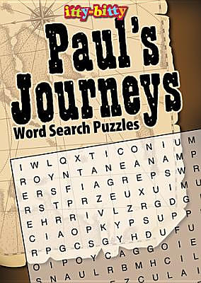 Itty Bitty: Paul's Journeys Word Search Puzzles
