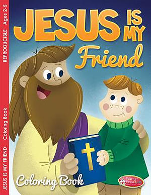 Jesus Is My Friend Colouring Activity Book