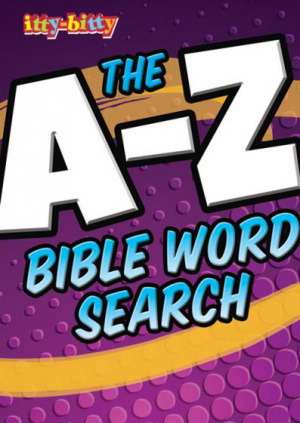 Itty Bitty: A-Z Bible Word Search Activity Book