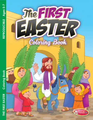 First Easter, The Colouring Activity Book