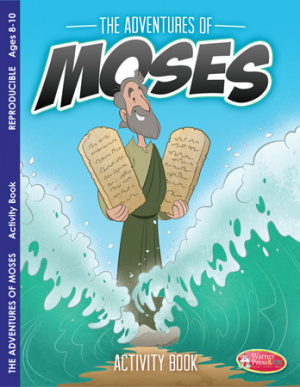 Adventures of Moses Colouring Activity Book