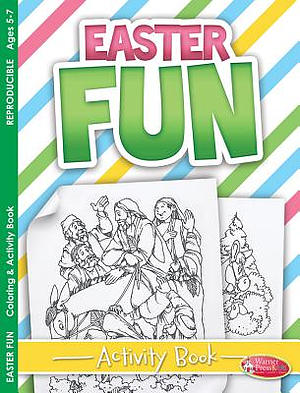 Easter Fun Colouring Activity Book