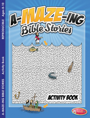A-Maze-Ing Bible Stories Activity Book