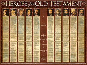 Heroes Of The O.T.  (Laminated)   20x26