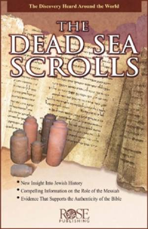 Dead Sea Scrolls Pamphlet