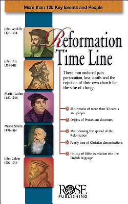 Reformation Time Line 5pk