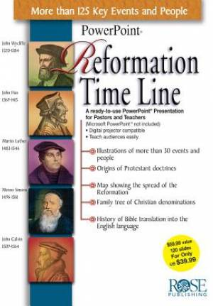 Reformation Time Line CDRom