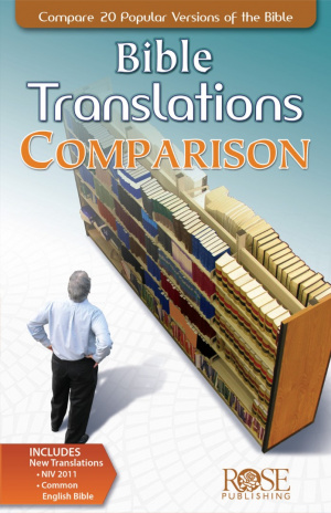 Bible Translations Comparison Pamphlet