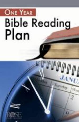 1 Year Bible Reading Plan 5 Pack
