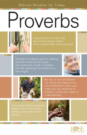 Proverbs Pamphlet : Biblical Wisdom For Today
