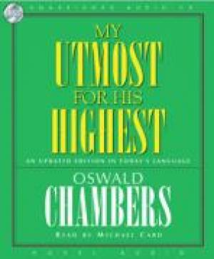 My Utmost For His Highest Audio Book on CD