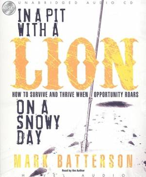 In A Pit With A Lion On A Snowy Day - Audiobook on CD