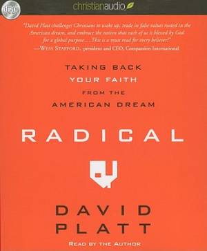 Radical - Audio Book on CD