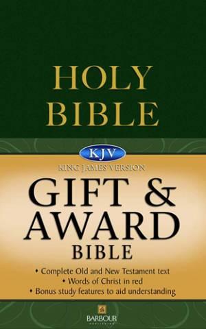 KJV Gift and Award Bible : Green