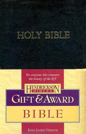 KJV Gift & Award Bible, Black Imitation Leather