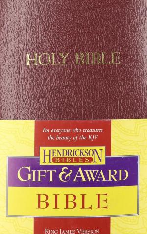 KJV  Gift & Award Bible: Burgundy, Imitation Leather