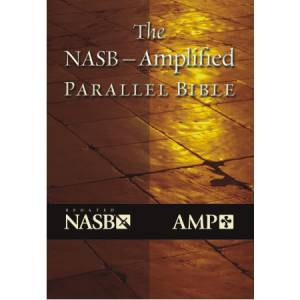 NASB / Amplified Parallel Bible: Burgundy, Bonded Leather