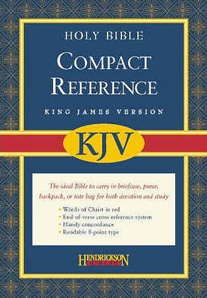 KJV Compact Bible: Black