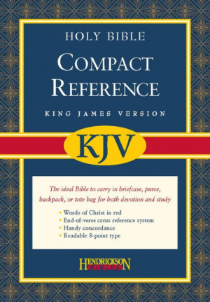 KJV Compact Reference Bible: Burgundy