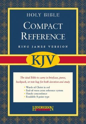 KJV Compact Reference Bible: Burgundy