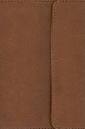 KJV Compact Reference Bible: Espresso, Imitation Leather, Large Print