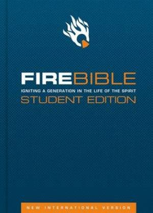 NIV Fire Bible: Student Edition, Leather, Black