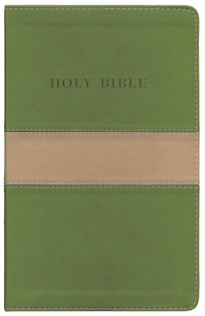 KJV Personal Size Giant Print Reference Bible