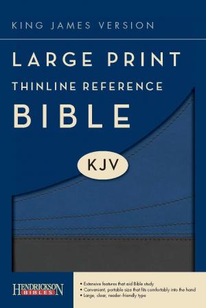Kjv L P Thinline Ref Slate Blue Lth