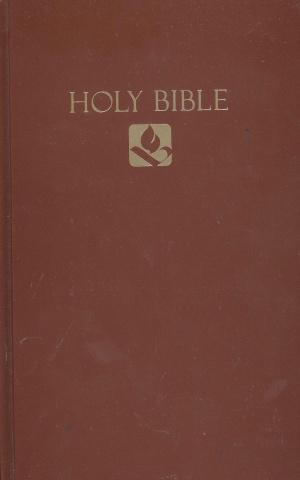 NRSV Pew Bible: Hardback Brown