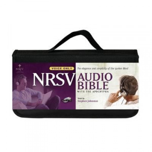 NRSV Audio Bible with apocrypha