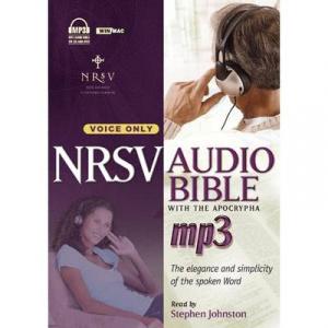 NRSV MP3 Audio Bible with apocrypha