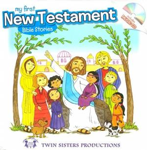 My First New Testament With Cd Pb