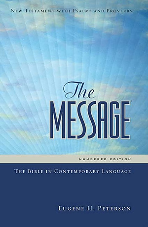 The Message Personal New Testament: Paperback