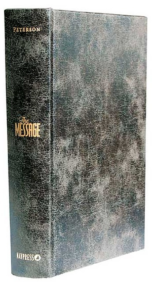 The Message Numbered Edition: Hardback, Distressed Look