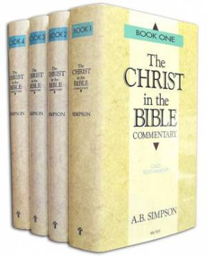 Christ In The Bible Commentary Set - 4 Volumes, The