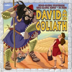 David & Goliath Hardback Book + CD-ROM