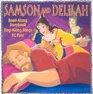 Samson & Delilah Hardback Book + CD-ROM