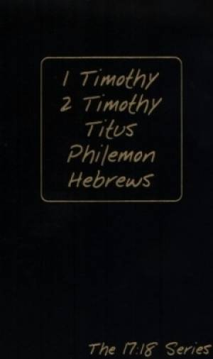 17 18 Series 1 Timothy Hebrews
