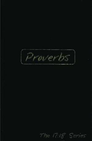 Proverbs -- Journible The 17:18 Series