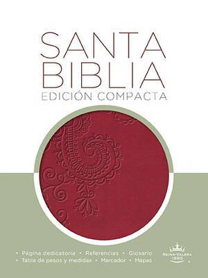 Santa Biblia Compacta-RVR 1960 Cranberry Imitation Leather