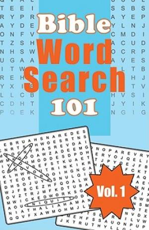 Bible Word Search 101 Vol 1