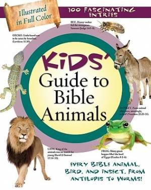 Kids Guide To Bible Animals Pb