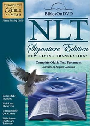 NLT® Signature Edition Bible On DVD