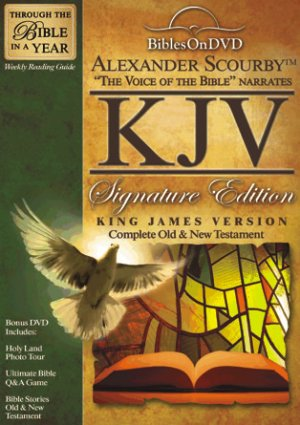 KJV Signature Edition Bible On DVD