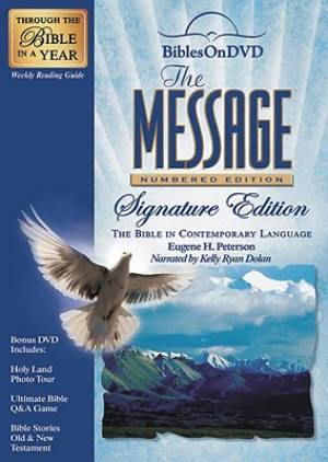 The Message: Numbered Edition Signature Edition: The Bible On DVD in Contemporary Language