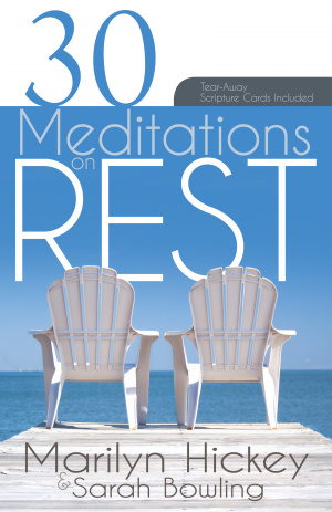 30 Meditations On Rest Paperback Book