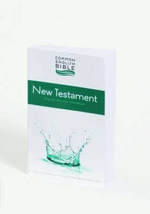 CEB Common English Bible New Testament Paperback