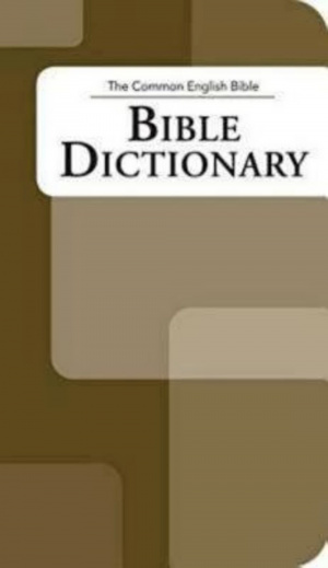 Common English Bible Dictionary