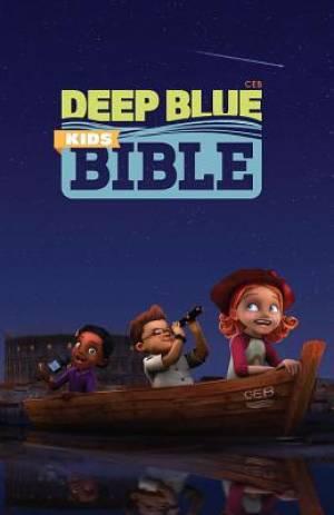CEB Common English Bible Deep Blue Kids Bible 3D Hardcover