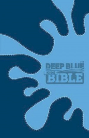 Deep Blue Kids Bible-CEB-splash